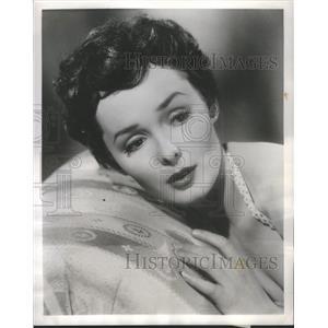 1955 Press Photo Brunette Mary Parker Stars The Vise English Suspense Drama