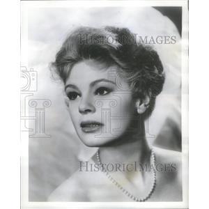 1958 Press Photo Betsy Palmer Television Actress Enemies - RSC93041