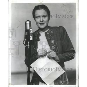 1942 Press Photo Selena Royle American Film & Television Actress - RSC88831