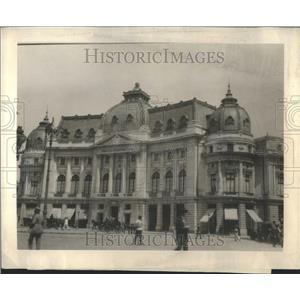 1924 Press Photo University Bucharest Romania