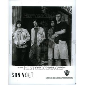 1995 Press Photo Son Volt Country Music Jay Jim Dave - RRU43397