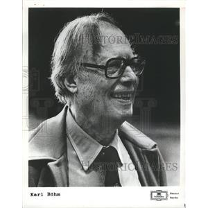 1979 Press Photo Karl Bohm Symphonic Conductor Chicago - RRV09663