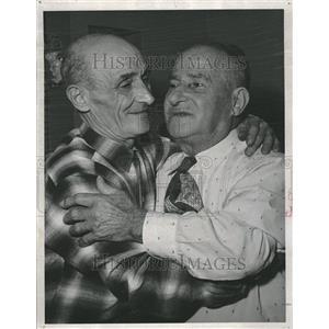 1960 Press Photo Joseph Forges Frank Italy Frank Meet - RRV20703
