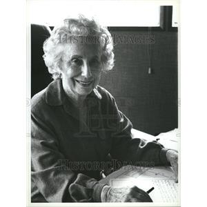 1983 Press Photo Moya Lear American Businesswoman - RRV21379