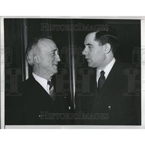 1947 Press Photo Secretary Byrnes Meets Ambassador Grom - RRV25583
