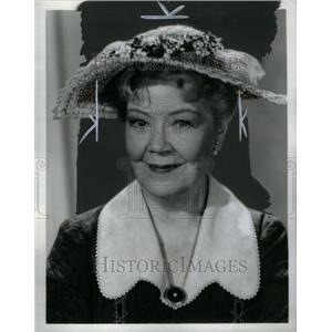 1963 Press Photo December Bride Actress Spring Byington