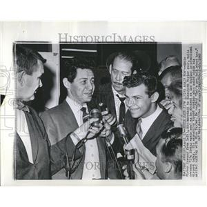 1962 Press Photo Eddie Fisher Elizabeth Taylor Marriage - RRV24279