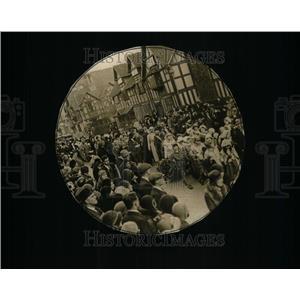 1932 Press Photo William Shakespeare Birthplace Theatre - RRU34947