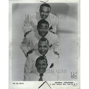 1963 Press Photo The Ink Spots - RRV20235