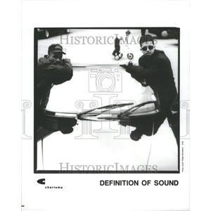 1993 Press Photo Band Definition of Sound