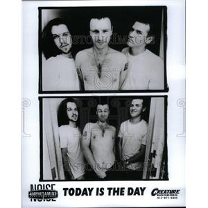 1993 Press Photo Today Is The Day Rock Metal Band - RRU41675