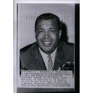 1962 Press Photo A.Leon Higginboth Philadelphia Lawyer - RRU40355