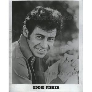 1977 Press Photo Eddie Fisher - RRV11433