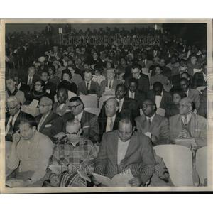 1961 Press Photo Chicago Urban League Leadership Conf - RRU35843