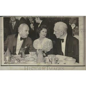 1970 Press Photo Mrs Jonson Lyndon John McCormick US - RRV23237