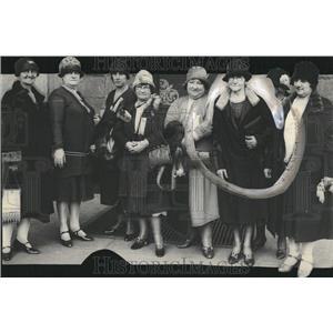 1928 Press Photo Denver Healt Boyne Graham Reed John - RRV22963