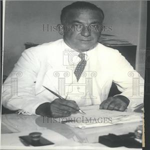 1934 Press Photo Ernest Gruening American Journalist