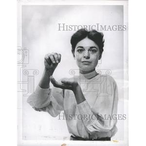 Press Photo Anne Bancroft The Miracle Worker - RRY41227