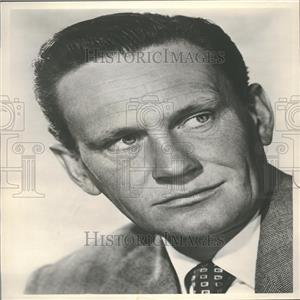 1959 Press Photo Wendell Corey American Actor