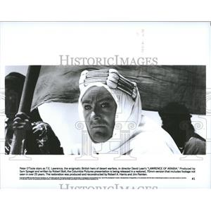 1962 Press Photo Peter O' Toole Stars As T.E. Lawrence