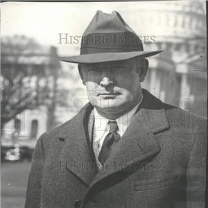 1935 Press Photo Walter W. Liggett American Journalist