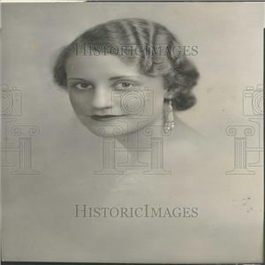 1933 Press Photo Ann Morrison American Actress.