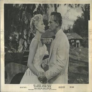 1969 Press Photo Mitzi Gaynor Rossano Brazzi Film Actor