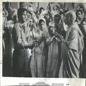 "1963 Press Photo J.S Casshyap in ""Nine Hours to Rama"""