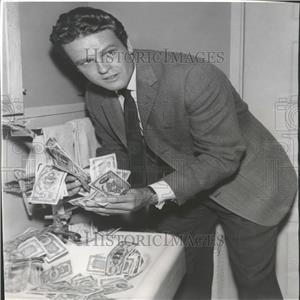 1962 Press Photo John Ericsson Night Panic Kraft Cloris