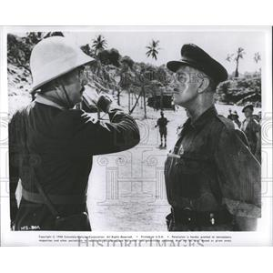 """1958 Press Photo A Scene From """"Bridge On The River Kwai - RRY45279"""