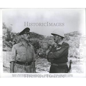 """1958 Press Photo Scene From """"Bridge On The River Kwai"""" - RRY45275"""