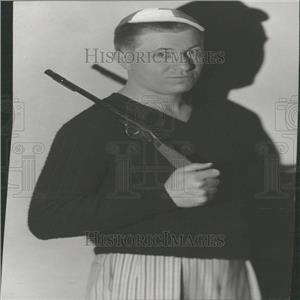 1930 Press Photo Stuart Erwin Actor - RRY24317