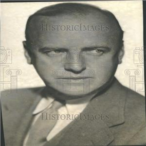 1936 Press Photo William Clement Entertainer Actor - RRY29491