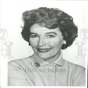 1959 Press Photo Actress Maggie Hayes - RRY27119
