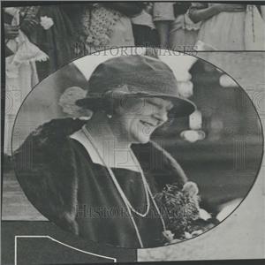 1923 Press Photo Singer Frieda Hempel Portrait