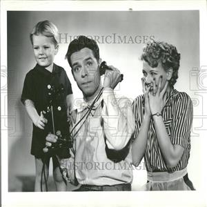 1939 Press Photo Blondie Dumpling dagwood finger face - RRY05675
