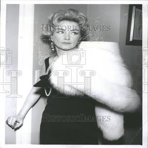 "1962 Press Photo Nina Foch in ""Cry to Heaven"""
