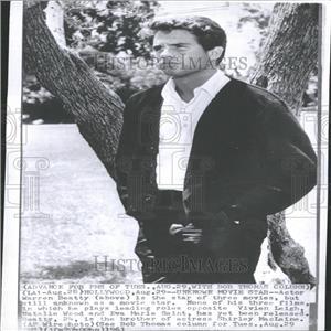 1961 Press Photo Warren Beatty Actor