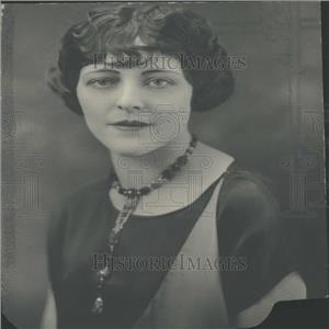 1925 Press Photo Leane Dancer San Francisco