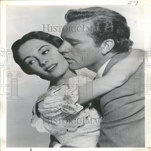 1964 Press Photo Richard Burton and Maggie McNamara