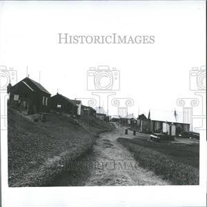 1965 Press Photo Shishmaref Village Air Landing Strip
