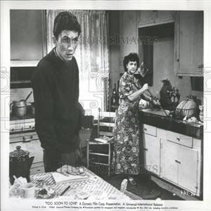 1961 Press Photo Too Soon To Love Film Actors West