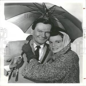 1961 Press Photo Wendell Reid Corey American Actor
