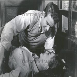 1961 Press Photo Warren Beatty DeMille Award Golden
