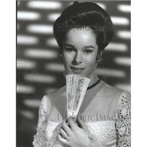 1965 Press Photo Geraldine Chaplin American Actress