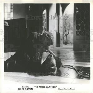 1960 Press Photo Melina Mercouri Pierre Vaneck Movie
