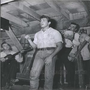 1958 Press Photo Fabian Hound Dog Man Rock Star - RRY08315