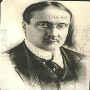 1918 Press Photo James Gerard, Former Amer-Ambassador