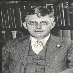 1933 Press Photo Harold W. Dodds Princeton University