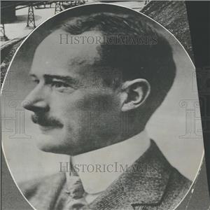 1923 Press Photo German Dr Krupp Portrait Gun Works